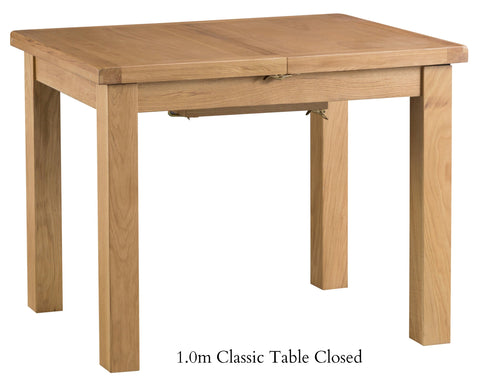Oakhampton Oak Extending Table Various Sizes