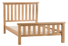Oakhampton Oak Bed Double, King, Super King