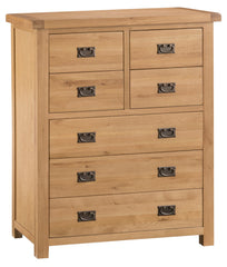 Oakhampton Oak 4 Over 3 Chest of Drawers