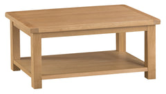 Oakhampton Oak Medium Coffee Table - The Rocking Chair