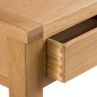 Oakhampton Oak Large Coffee Table with Drawers