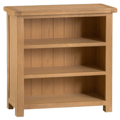 Oakhampton Oak Wide Low Bookcase