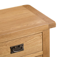Oakhampton Oak Small 2 Door 1 Drawer Sideboard