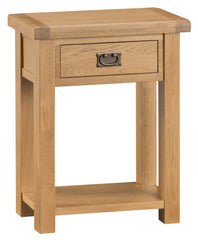 Oakhampton Oak Telephone Table with Drawer