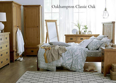 Oakhampton Oak 3 Drawer Chest of Drawers - The Rocking Chair