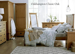 Oakhampton Oak 2 Over 3 Chest of Drawers - The Rocking Chair