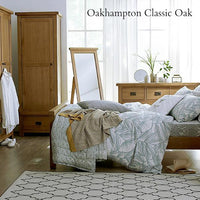 Oakhampton Oak 4 Drawer Narrow Chest of Drawers - The Rocking Chair