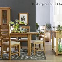 Oakhampton Oak 2 Door Cupboard - The Rocking Chair