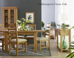 Oakhampton Oak Chairs Crossback & Ladderback - The Rocking Chair