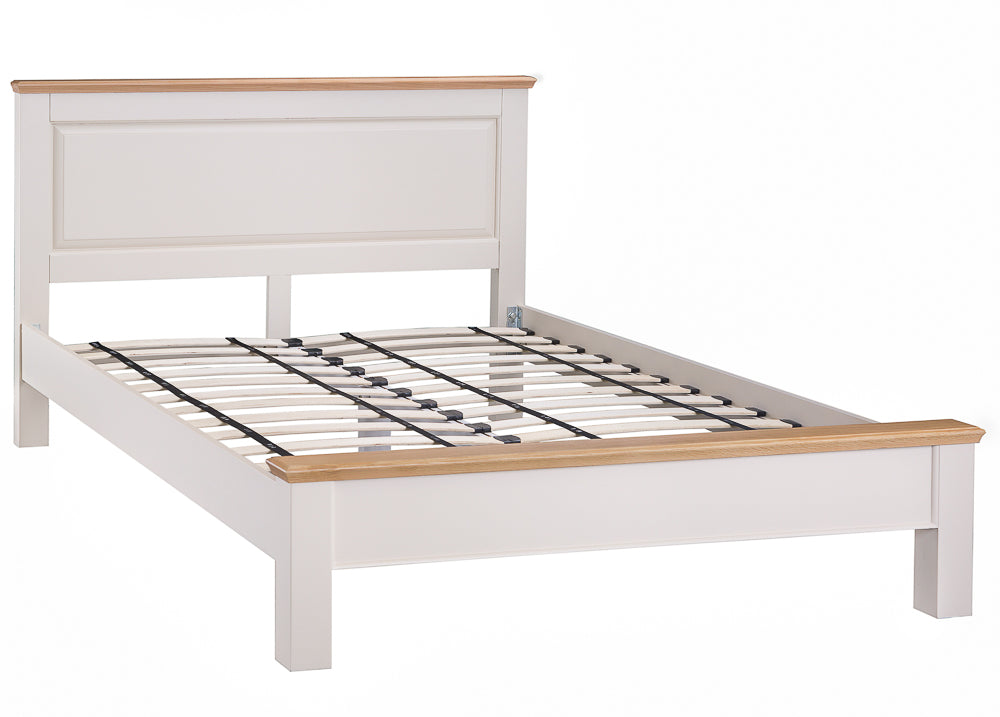 Dorset Oak Painted Bed Double & King Size