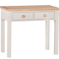 Dorset Oak Painted Dressing Table with Drawers
