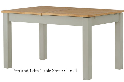 Portland Oak Grand Extending Dining Table 180-240