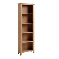 Gower Oak Dining Large Bookcase