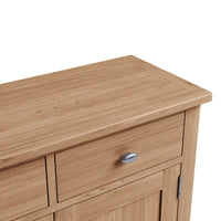 Gower Oak Dining 2 Door 2 Drawer Sideboard