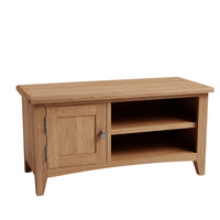 Gower Oak Dining TV Cabinet with 1 Door and Shelf