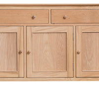 Oslo Oak 3 Door 3 Drawer Sideboard