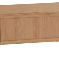 Oslo Oak Blanket Box