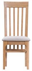 Oslo Oak Slat Back Chair