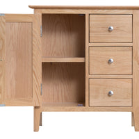 Oslo Oak Large Cupboard