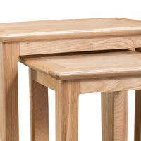 Oslo Oak Nest of 2 Tables