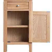 Oslo Oak Small Cupboard