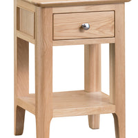 Oslo Oak Side Table with Drawer