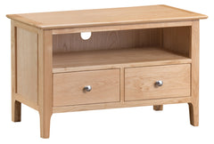 Oslo Oak 2 Drawer TV Cabinet