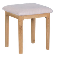 Oslo Oak Dressing Table Stool
