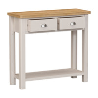 Radnor Oak & Painted Dining Console Table