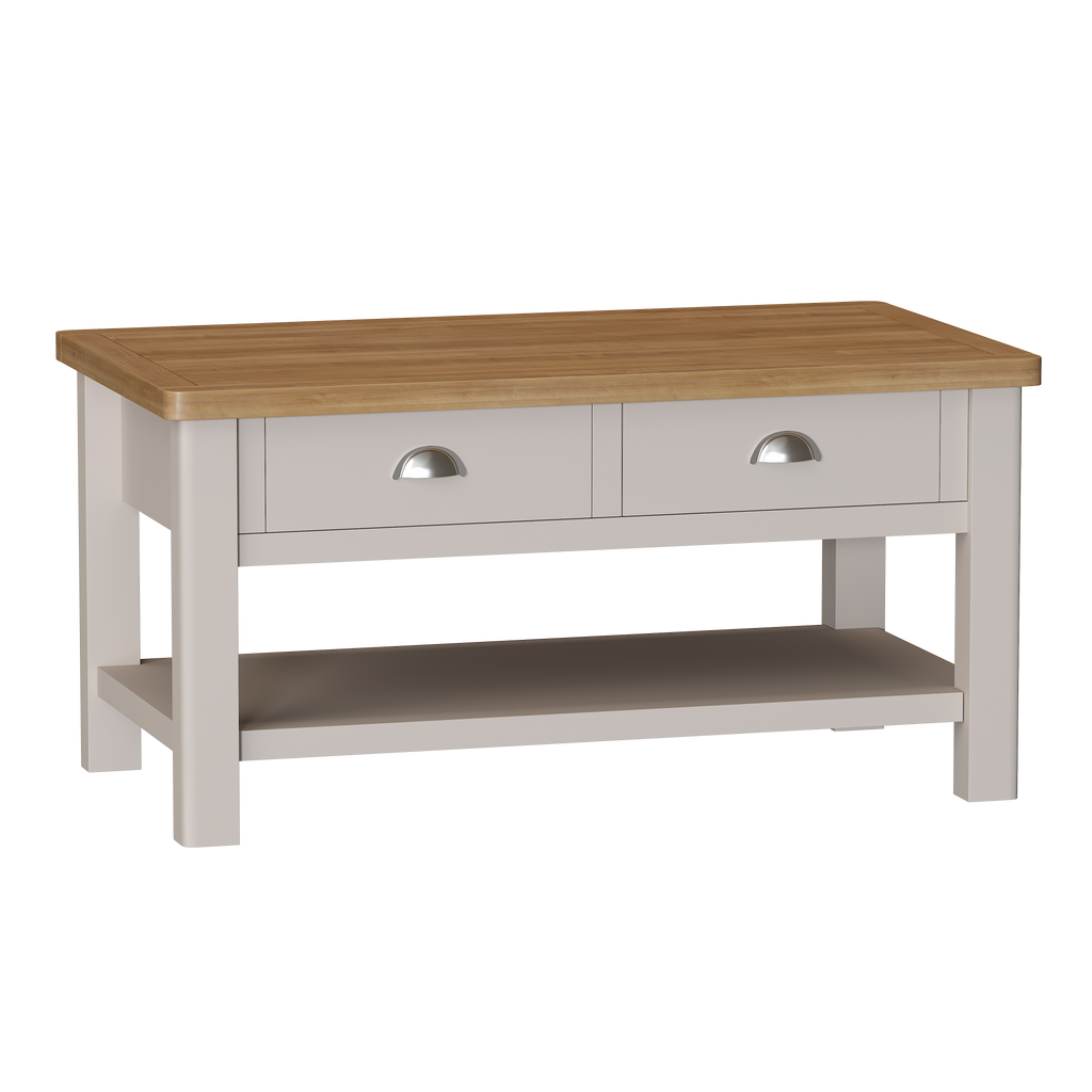 Radnor Oak & Painted Dining Large Coffee Table