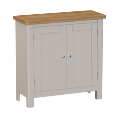 Radnor Oak & Painted Dining Small 2 Door Sideboard