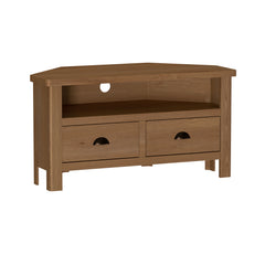Radnor Oak Dining Corner TV Cabinet