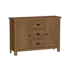 Radnor Oak Dining 2 Door 3 Drawer Sideboard