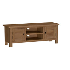 Radnor Oak Dining Large TV unit