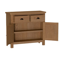 Radnor Oak Dining 2 Door 2 Drawer Sideboard