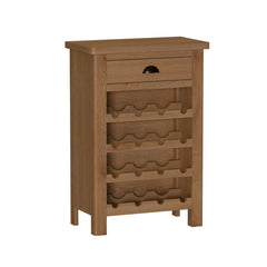 Radnor Oak Dining Wine Cabinet