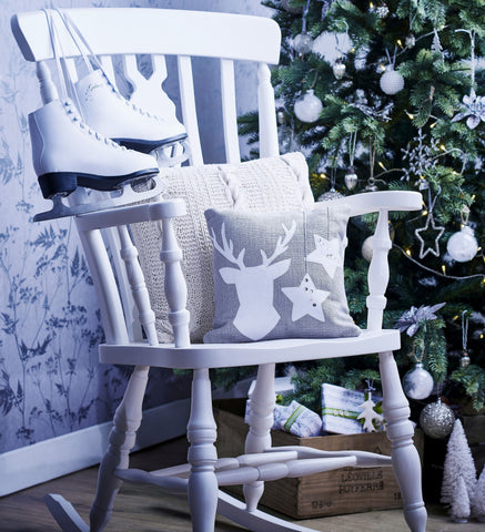 Painted Fiddle Rocking Chair Free Delivery - The Rocking Chair