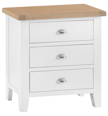 Toronto Painted 3 Drawer Chest of Drawers
