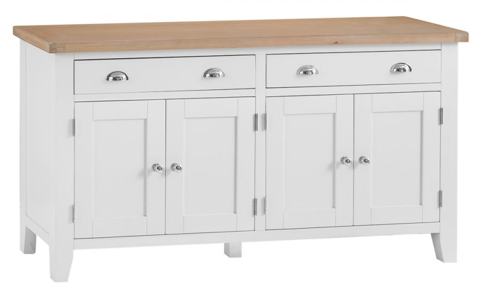 Toronto Painted 4 Door 2 Drawer Sideboard