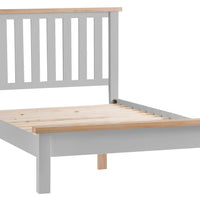 Toronto Painted Slatted Bed, Single, Double, King & Super King