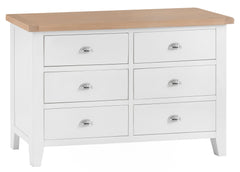Toronto Painted 6 Drawer Chest of Drawers