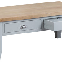 Toronto Painted Large 2 Drawer Coffee Table