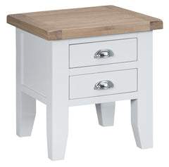 Toronto Painted Lamp Table with 2 Drawer