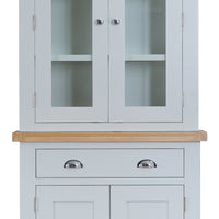 Toronto Painted Small Sideboard Glazed Top