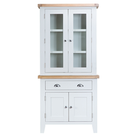 Toronto Painted Small Sideboard Glazed Top - The Rocking Chair