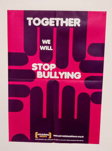 Together We Will Stop Bullying poster pack