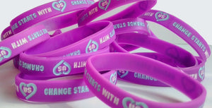 "Wristbands - Anti-Bullying Week 2019 ""Change Starts With Us"""