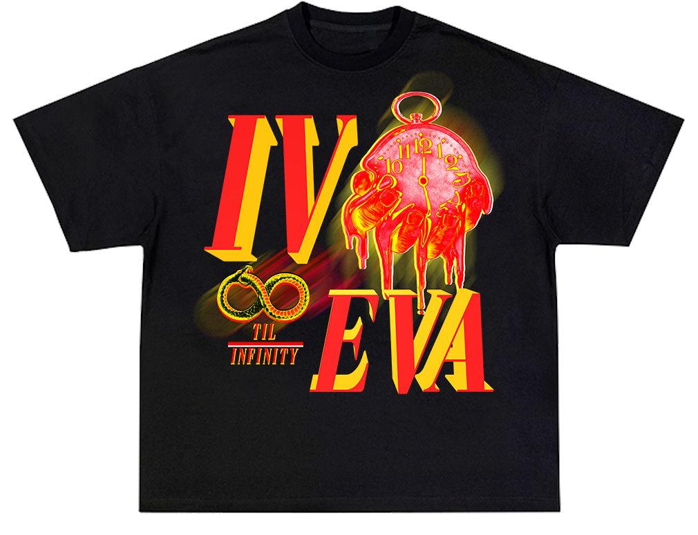 I. IVEVA Til Infinity ( Heavy Weight Tee )