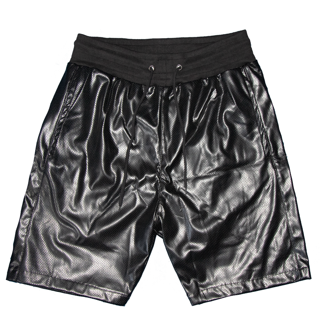 III. Perforated Leather Shorts