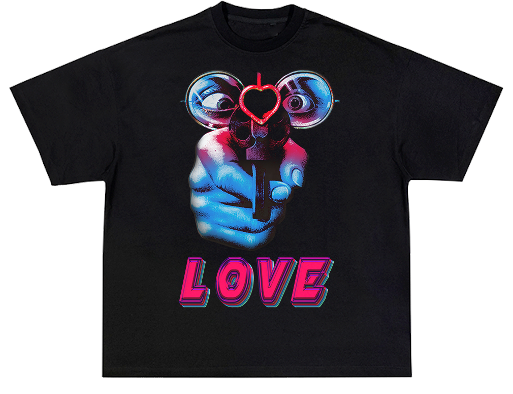 I. PRAY IV LOVE ( Heavy Weight Tee )